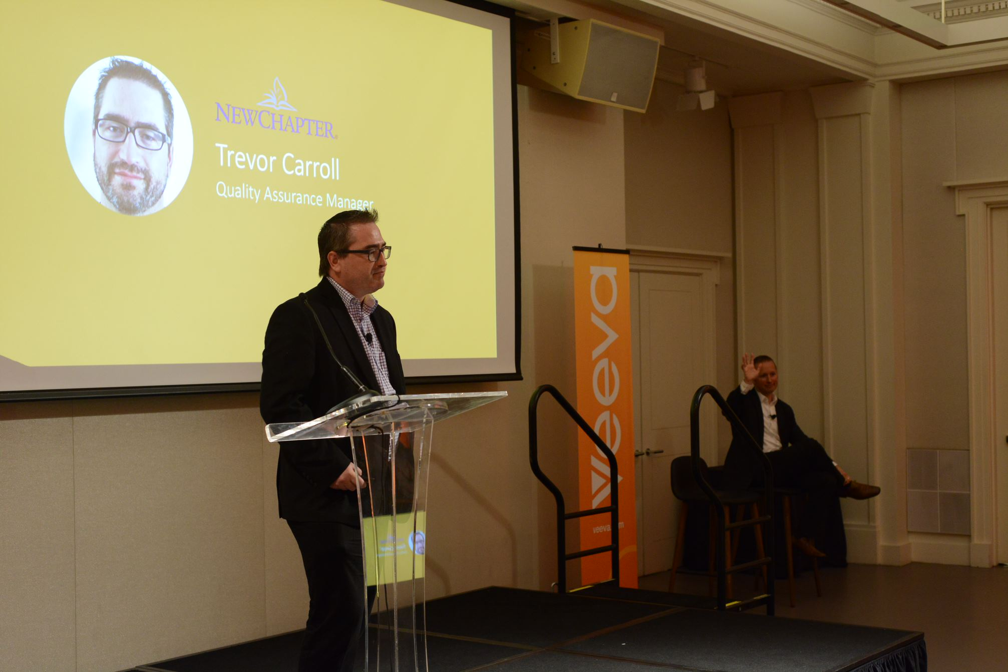 Trevor Carroll, Quality Assurance Manager from New Chapter